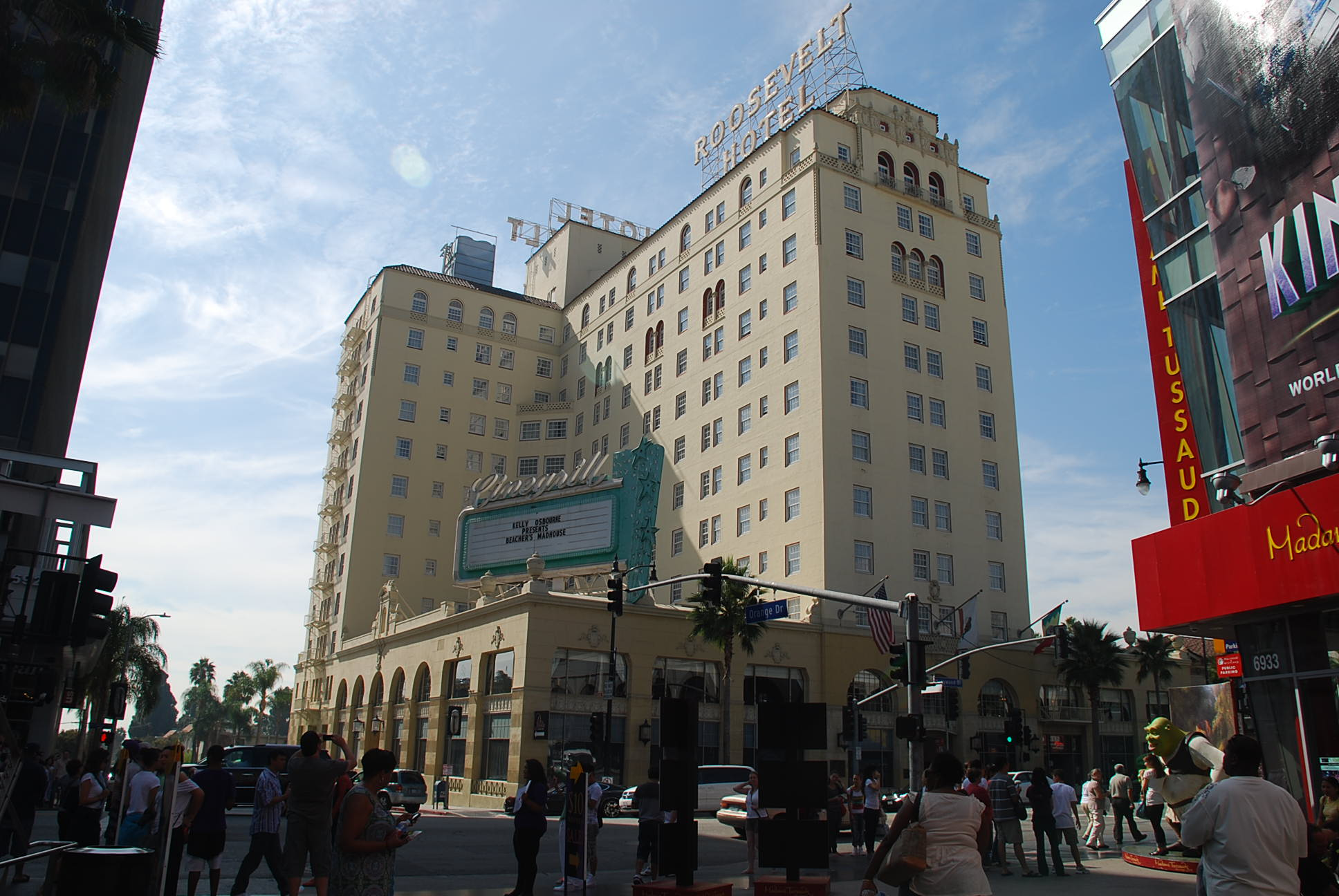 Hollywood Roosevelt Hotel Paranormal