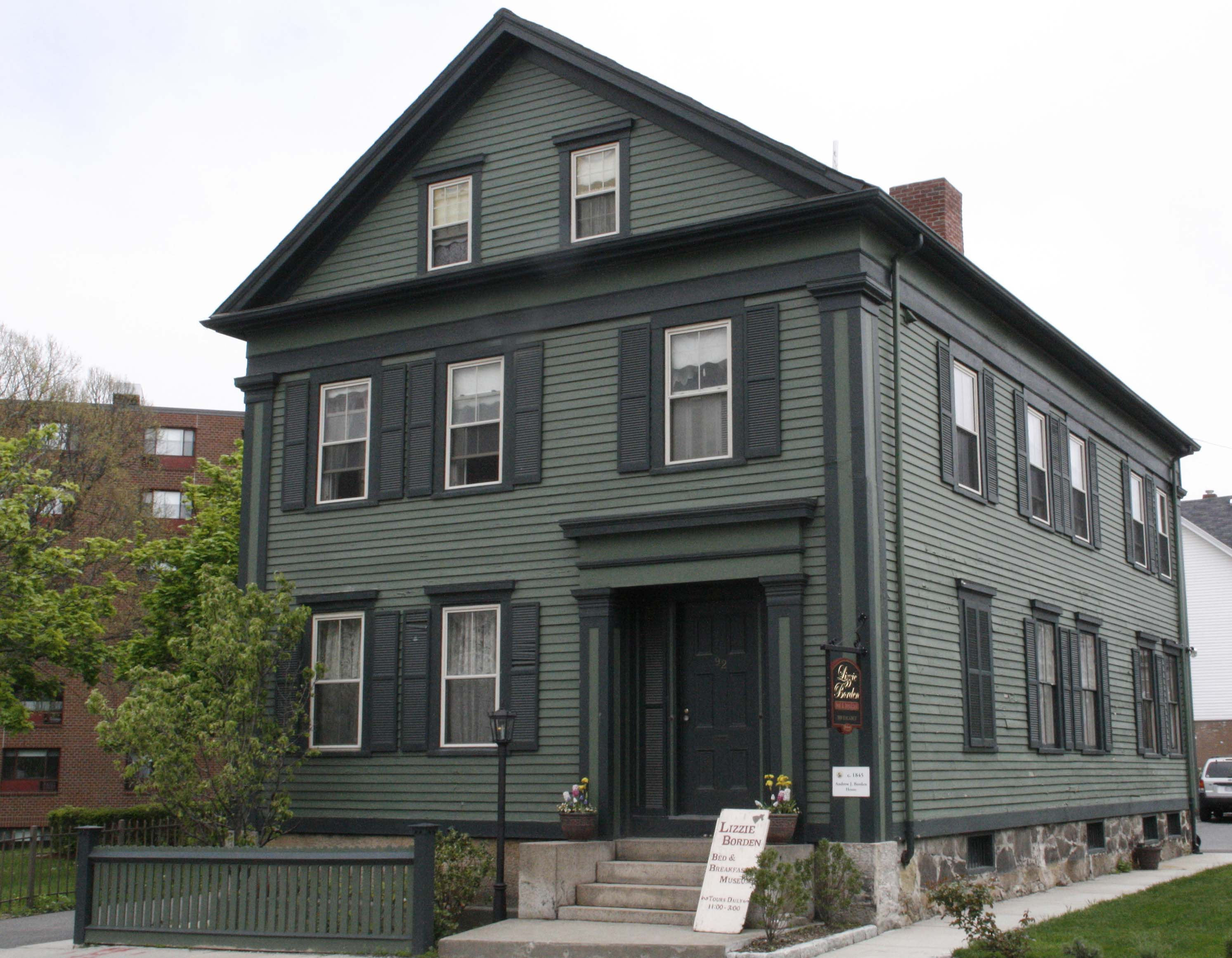 Lizzie Borden Bed and Breakfast Paranormal