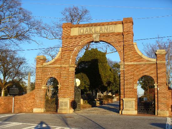 Oakland Cemetery Paranormal