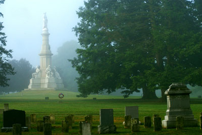 Gettysburg National Cemetery Paranormal