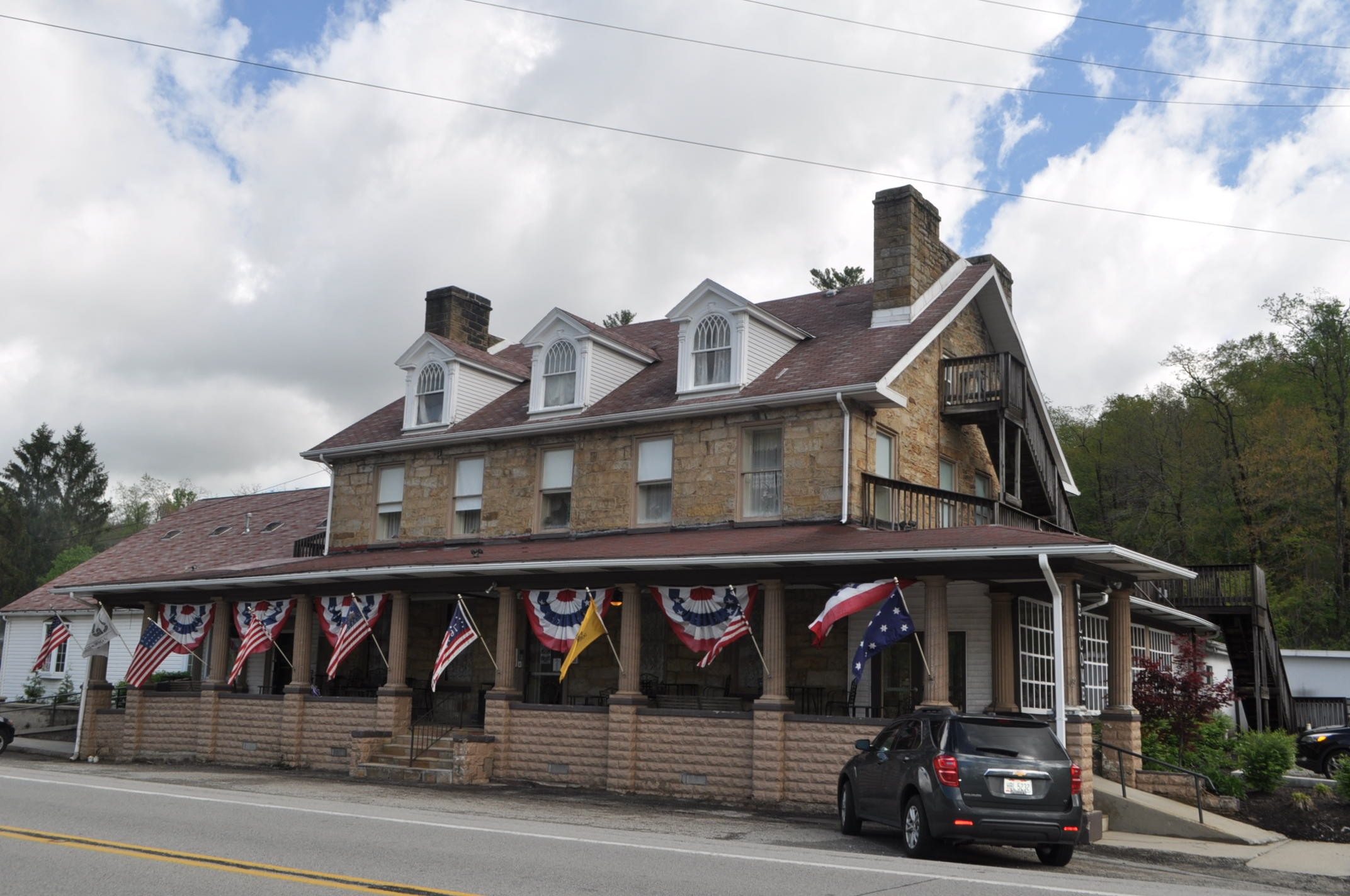 The Stone House Restauraunt and Country Inn paranormal