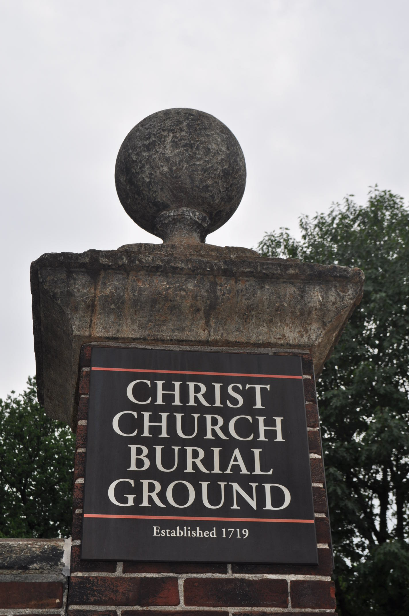 Christ Church Burial Ground Paranormal
