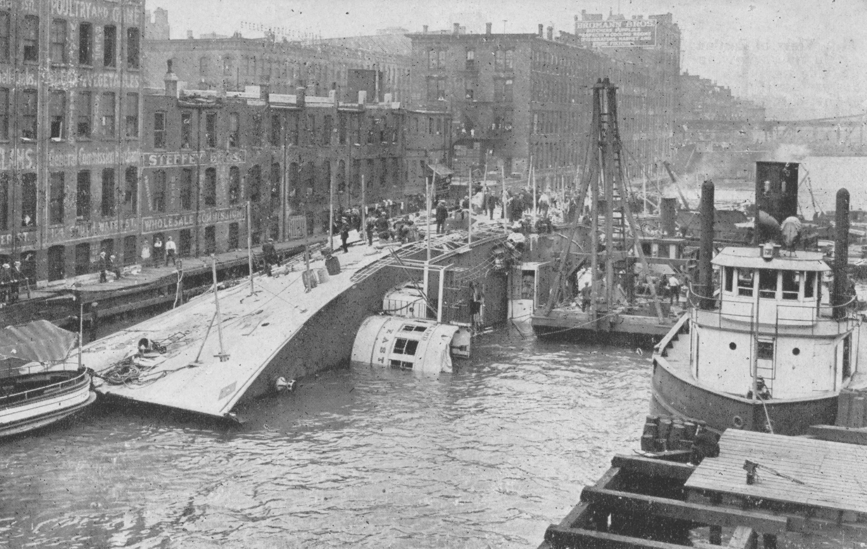 S.S. Eastland Disaster Location paranormal
