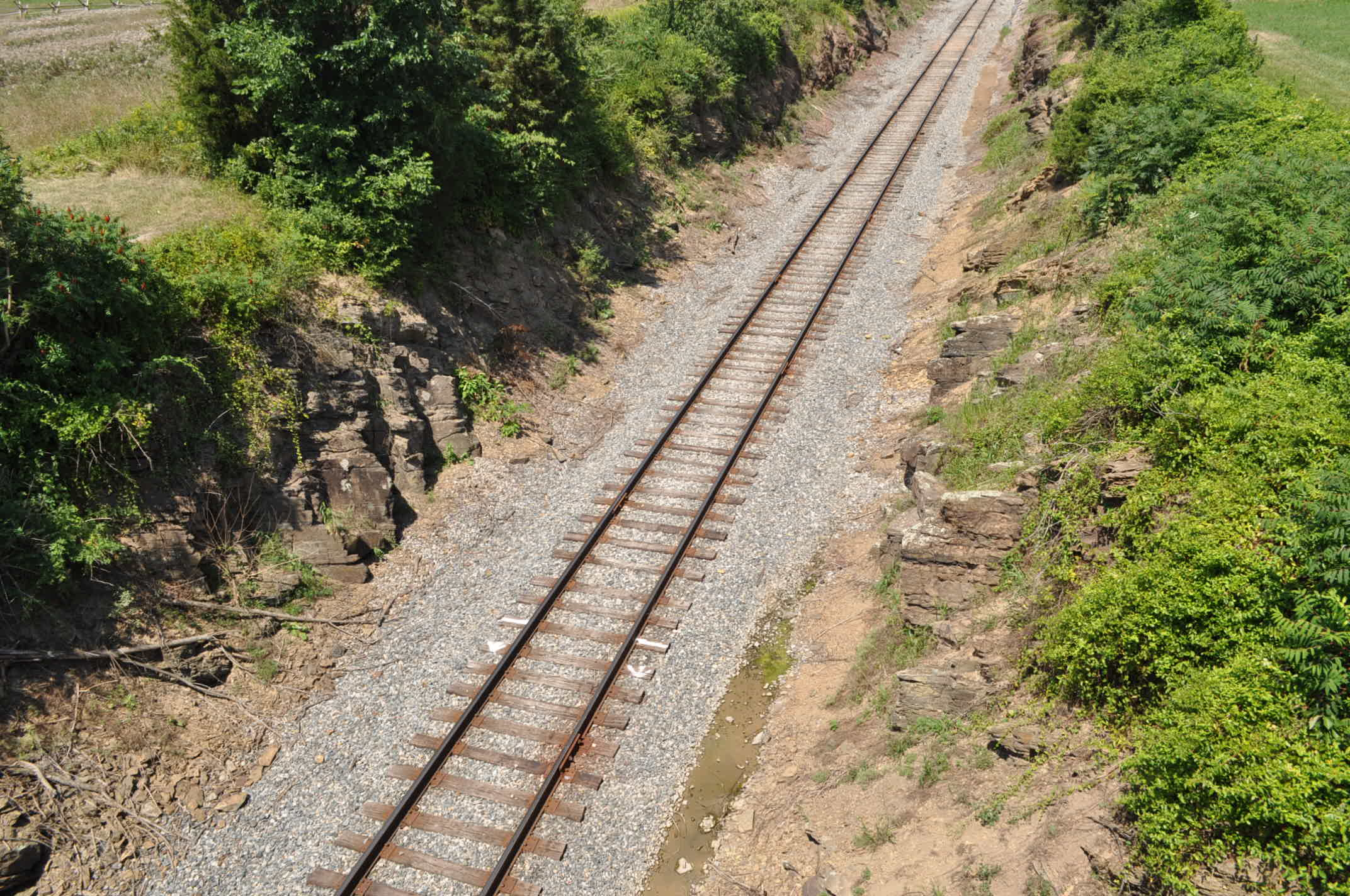 McPherson Ridge Railway Cut